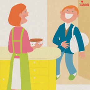 カゴメデリリゾット&デリ満点洋食 / Magazine ad (2006)