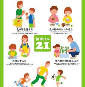 親子で食育 / Poster (2003)